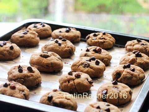 Resep Cookie Monster Chewy Chocochips Cookies Trial New Recipe Oleh Tintin Rayner Resep Resep Makanan Makanan Resep