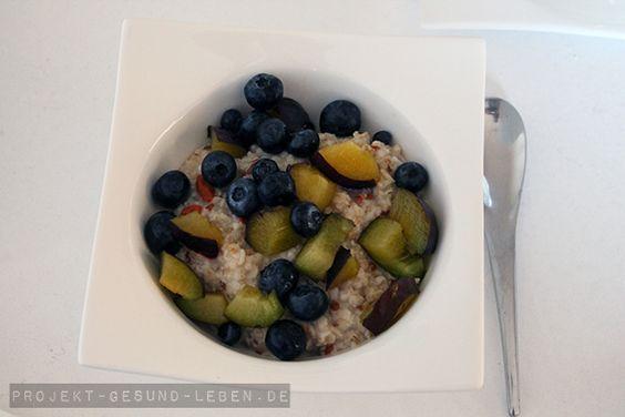 Frühstück ist die wichtigste Mahlzeit des Tages | Projekt: Gesund leben