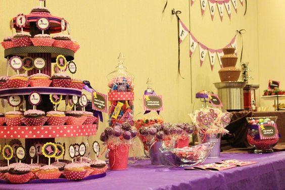 Willy Wonka Birthday Party Theme Ideas: Chocolate fountain ...