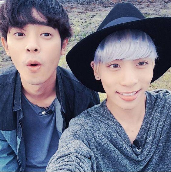 Jonghyun with Joonyoung ❤