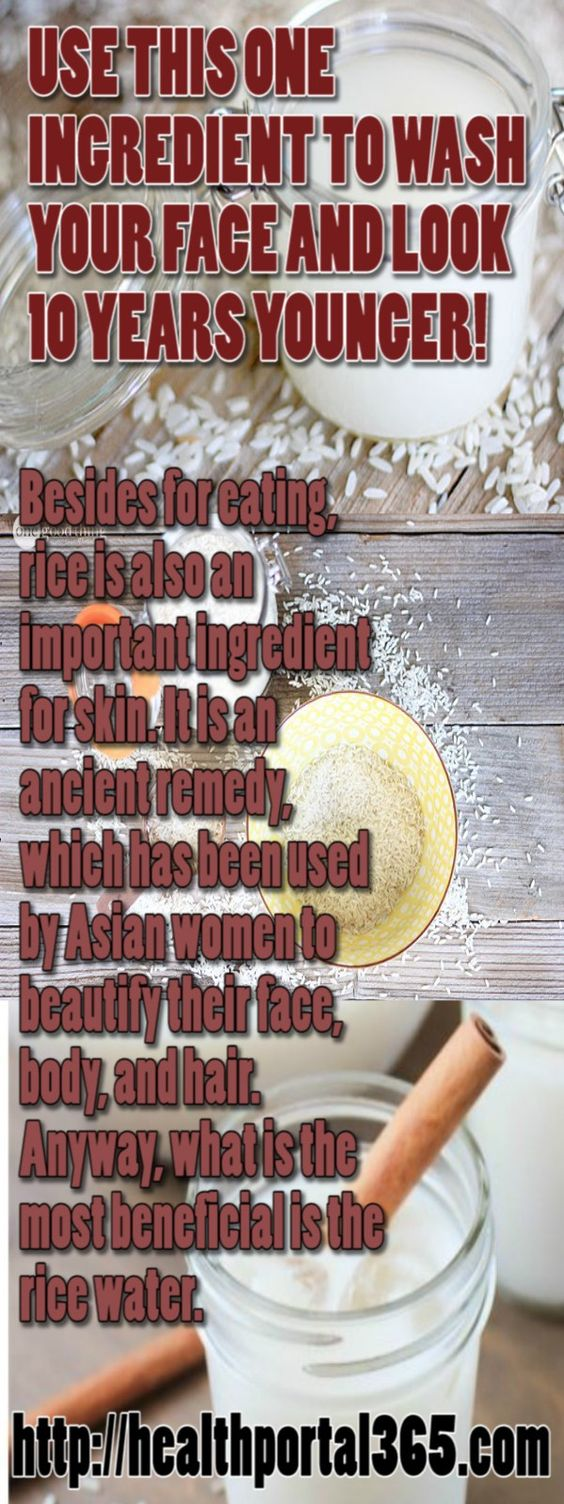 Besides for eating, rice is also an important ingredient for skin. It is an ancient remedy, which has been used by Asian women to beautify their face, body, and hair. Anyway, what is the most beneficial is the rice water. Beauty Benefits of Rice Water As we mentioned above rice water contains powerful hair and …