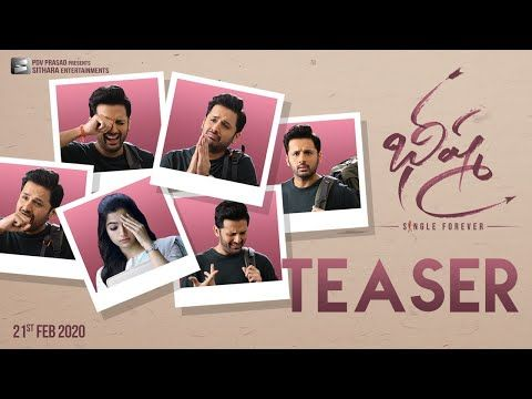 Bheeshma 2020 Movie Release Date And Cast And Crew Budget Songs Trailer In 2020 Movie Teaser Teaser Movies