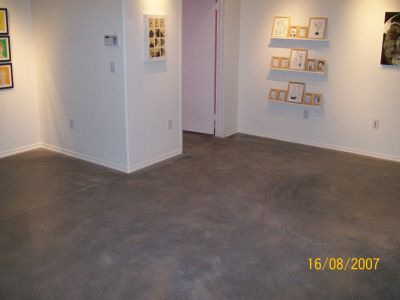 Stains gray and gray stain on pinterest for Residential concrete floor wax
