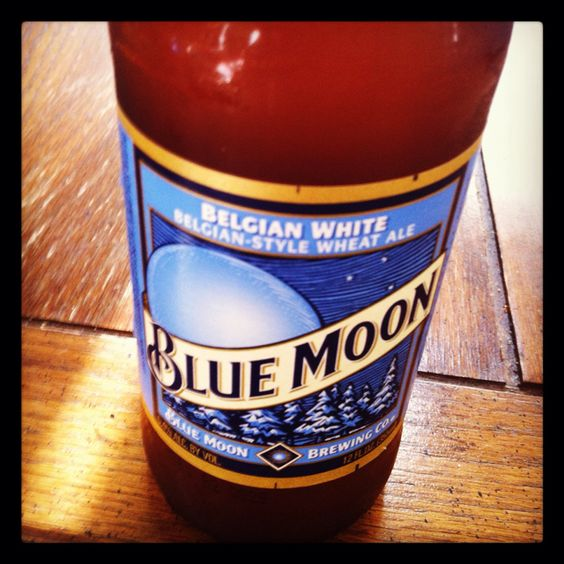 Blue Moon. What I'm drinking right now :)