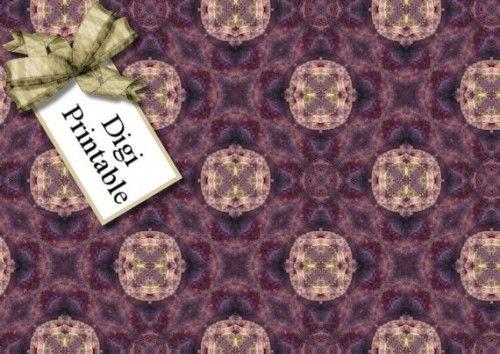 Printable Paper Bead Sheet Set 10 - £1.00 : Instant Card Making Downloads