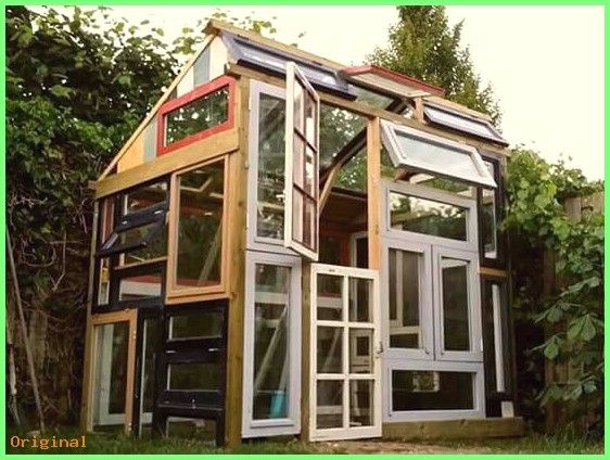 50 Garten Gewachshaus Bauerngarten Hinterhofschuppen Ideenfureingewachshaus Recycl Jardin De Invierno Casas De Madera Casa Hermosa