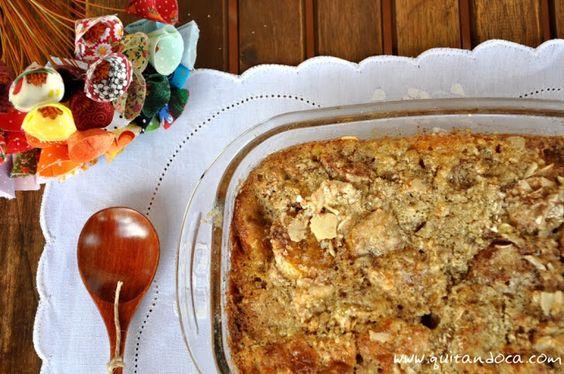 Blog Quitandoca: Torta integral de Banana