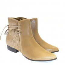 Dumond Bota Cano Curto Natural 1656