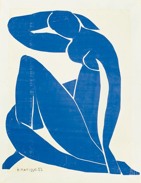 Matisse. Blue Nude. 1952.  one of my favorite prints by my favorite artist.