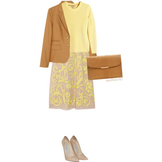 For my work by malbina-82 on Polyvore featuring мода, Jonathan Saunders, Burberry, J.Crew, Jimmy Choo and Asprey