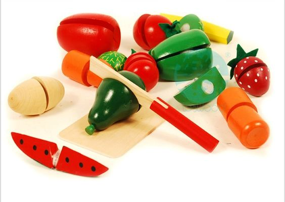 New 13pcs Children Wood Kitchen Toys Colorful Pretend Toys Educational Cut Toys for Kids Baby Cut Fruit Vegetable WJ326 #>=#>=#>=#>=#> Click on the pin to check out discount price, color, size, shipping, etc. Save and like it!