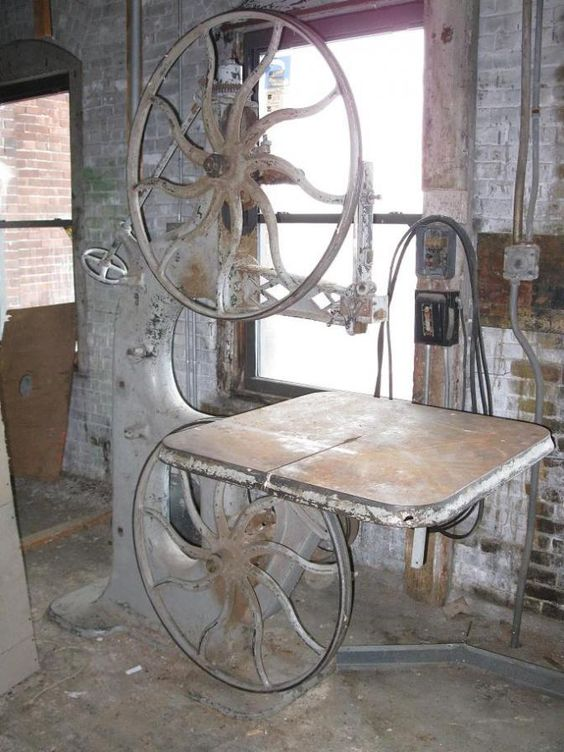 I Would like an early Band Saw like this one... even if it ...