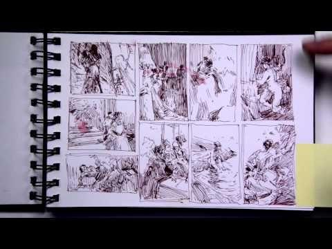 ▶ John Park sketchbooks: part 1 of 2 - YouTube