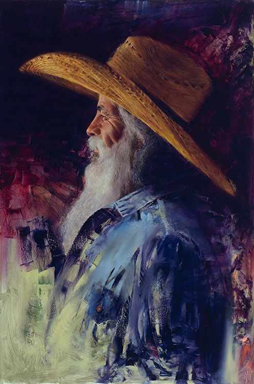 Caballero By Dean Buhler Art Artwork Artist Portrait Cowboy