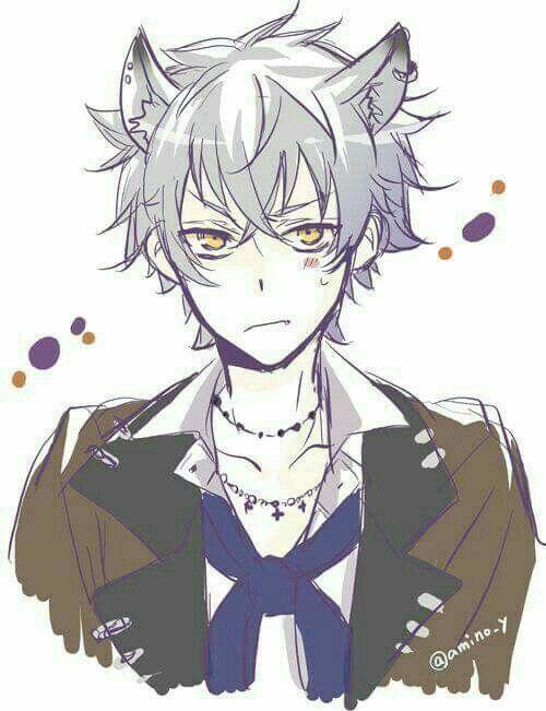 Pin By Ngma Amor On Kawaii Anime Neko Wolf Boy Anime Cute Anime Guys