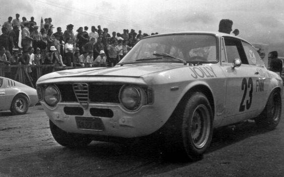 Piero Gancia - Alfa Romeo GTA - Scuderia Jolly Gancia