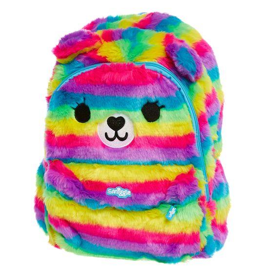 Image for Junior Fluffy Bag Backpack from Smiggle UK