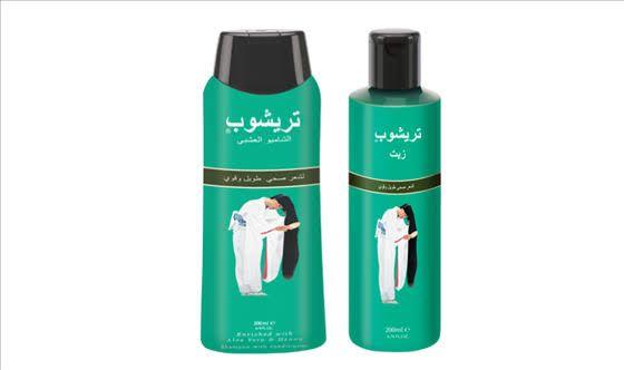 شامبو ترشوب الأصلي لتطويل الشعر Shampoo Shampoo Bottle Beauty