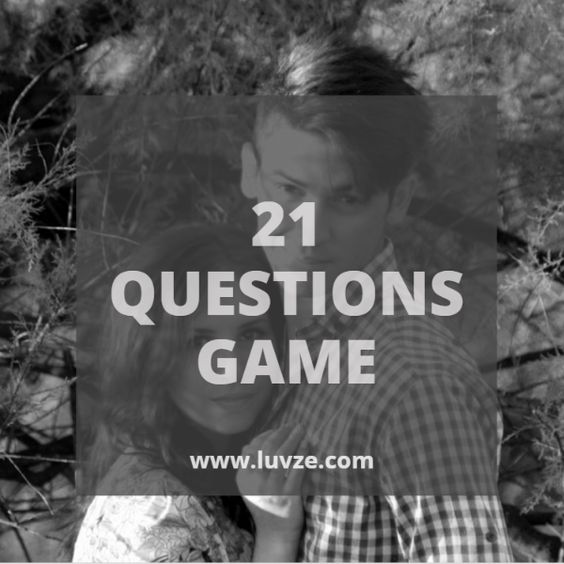 The 21 Questions Game – 101 Fun and unexpected topics.