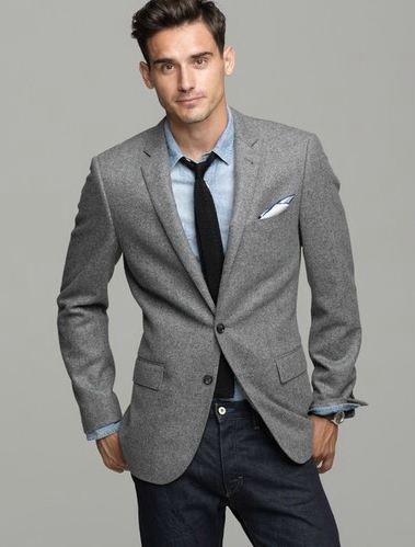 gray herringbone sport coat - Google Search | style | Pinterest
