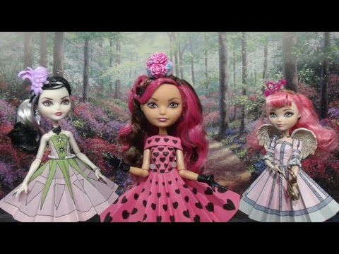 Free Dresses | Printable Doll Clothes