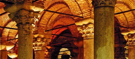 Cisterna Basílica, Estambul, Turquía