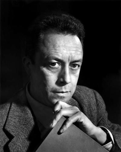 Albert Camus...spent many nights debating his thoughts on writing.