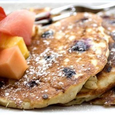 Blueberry pancakes! balans.co.uk