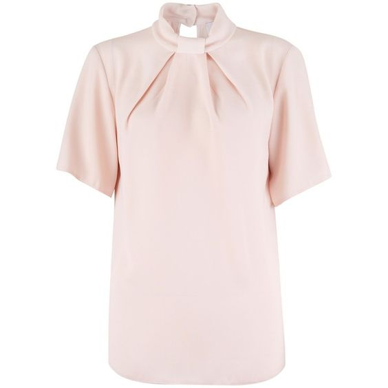 Closet Bow Tie Neck Collar Blouse 55 980 Krw Liked On