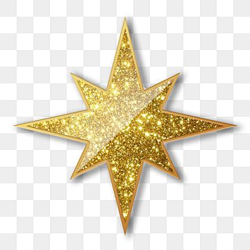 Golden Creative Hand Painted Shining Stars Element Star Clipart Christmas Star Eight Pointed Star Png Transparent Clipart Image And Psd File For Free Downloa In 2021 Christmas Star Star Clipart Star Background