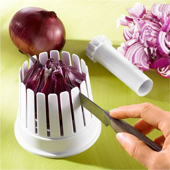 Minceur oignons onions slicer funny coloured cooking - Accessoire cuisine rigolo ...