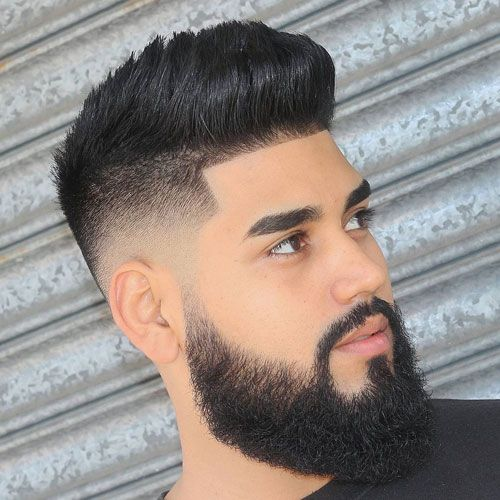 Low Fade Haircuts With Beards