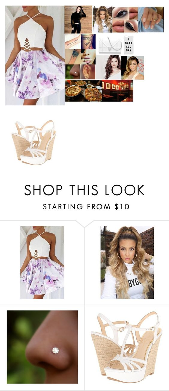 """""""👸Valentina👸   Pizza Date with Riley and Carola"""" by remybosslika ❤ liked on Polyvore featuring Jessica Simpson and Cyrus"""