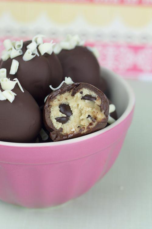 RECETA Objetivo: Cupcake Perfecto.: ¡Bolas de galleta (y un granito de arena)!