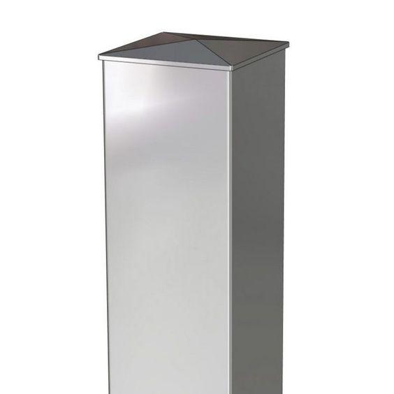 Poteau Aluminium Blanc 15 X 15 190 Lapeyre Reduction Promotion