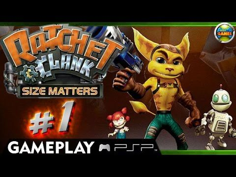Ratchet and Clank: Size Matters - Pokitaru part 1 [PSP/PPSSPP]