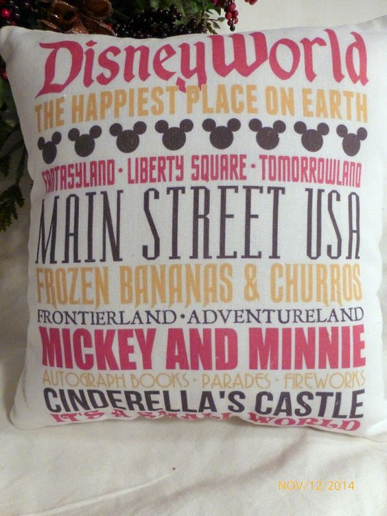 Disney Throw Pillows That Will Transport You Home