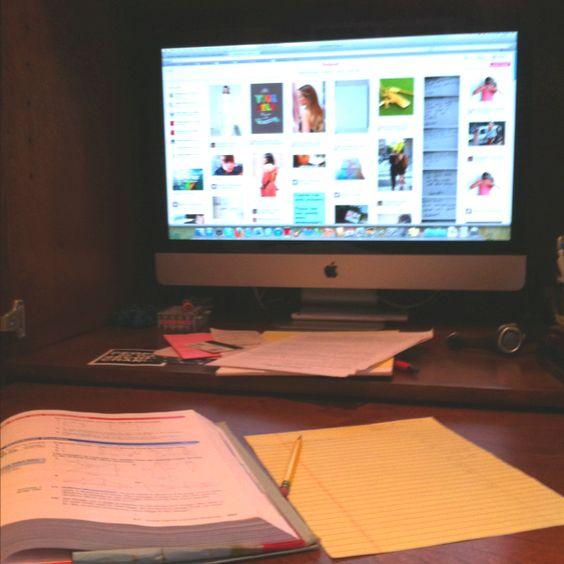 Trying to start homework but getting a little distracted by pinterest :)