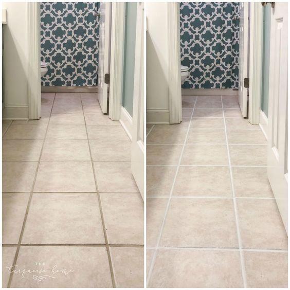 Tile Gap Filler Pen In 2020 Floor Grout Tile Filler Grout Paint