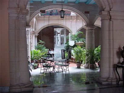 First stop Havana to stay in a boutique hotel. Santa Isabel Boutique Hotel #Cuba