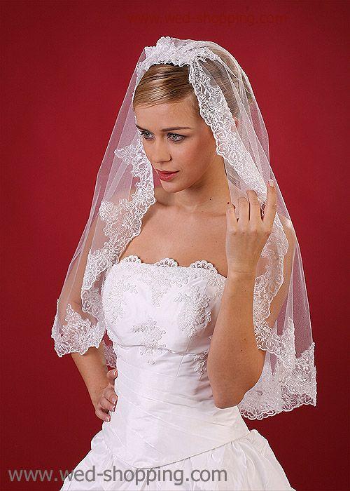 Voile dentelle de mariée