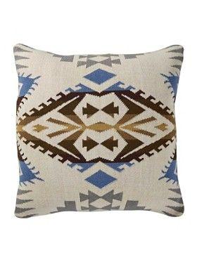 Silver Bark Knit Pillow