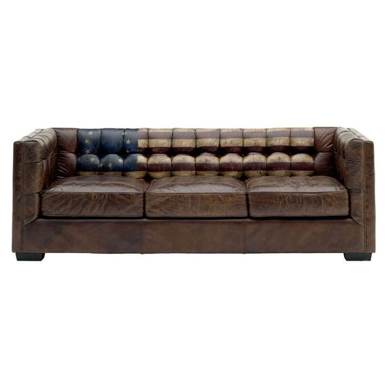 Andrew Martin Amstrong Sofa -  Stars and Stripes  | SOF0047 | £3,150.00