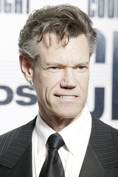 Randy Travis walks the red carpet at the 41st annual CMA Awards on Nov. 7, 2007.