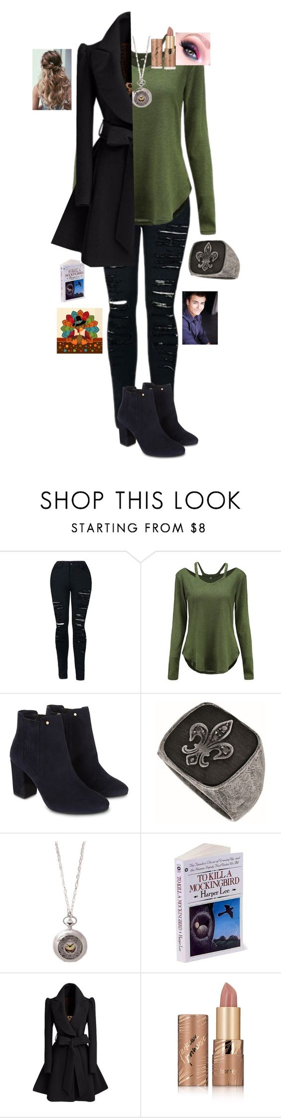 """""""Turkey Day with Lucas"""" by yellowandpinkbunny ❤ liked on Polyvore featuring Monsoon, Phillip Gavriel and tarte"""