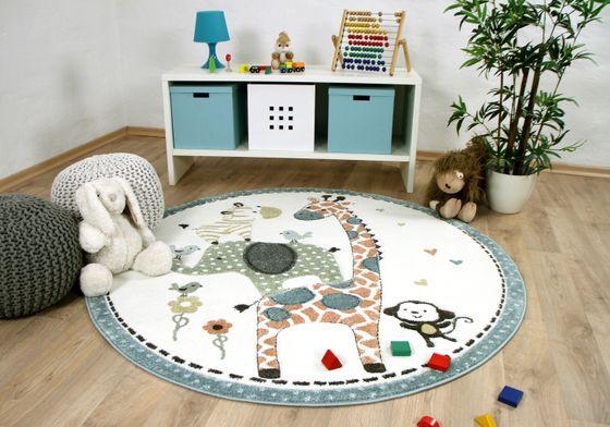 14 Pastell kinderzimmer teppich rund