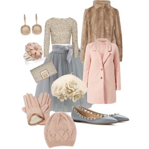 Potential winter wedding outfit - mainly the top, skirt and shoes. Would need to find a cheaper top though!