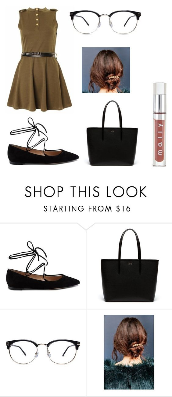 """""""Untitled #342"""" by fashion-with-dudette on Polyvore featuring Gianvito Rossi, Lacoste and Urban Outfitters"""