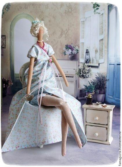 Куклы Тильды ручной работы. Ярмарка Мастеров - ручная работа Тильда Джейн..Утро...Кофе... Handmade.: