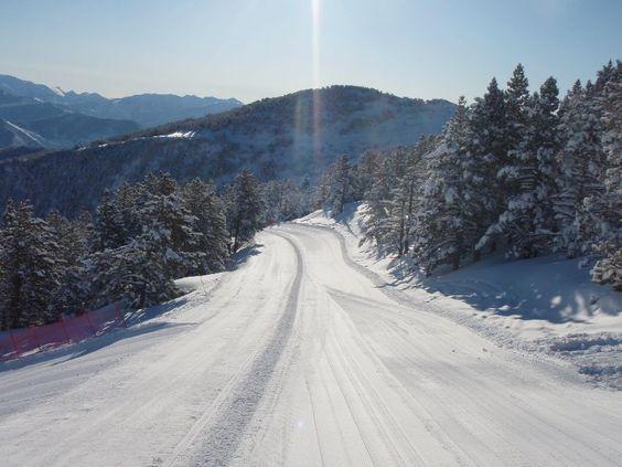 Esquiar entre arbres a Espot és el més comú...i és maravellós!